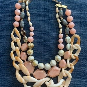 Anthropologie Statement Necklace beaded